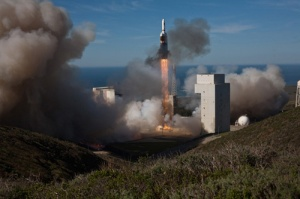 Launch of Delta IV NROL-49, Vandenberg AFB, California. January