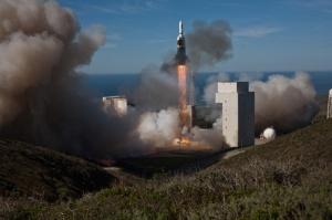 Launch of Delta IV NROL-49, Vandenberg AFB, California. January