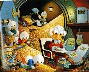 Scrooge_Money_Bin_With_Nephews
